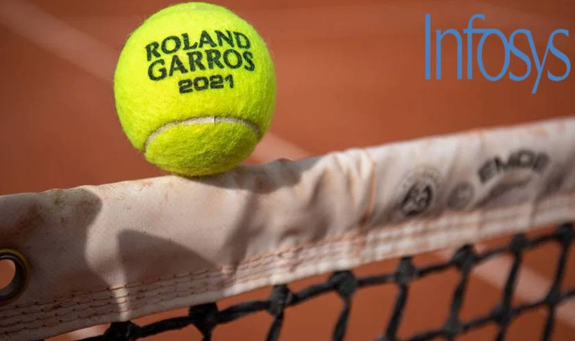 Infosys to Help Bridge Gap between Fans and Tennis at Roland-Garros