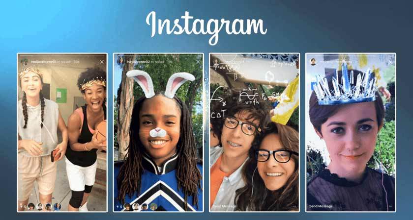 Instagram clones Snapchat's last standalone feature, Snap's Selfie Masks