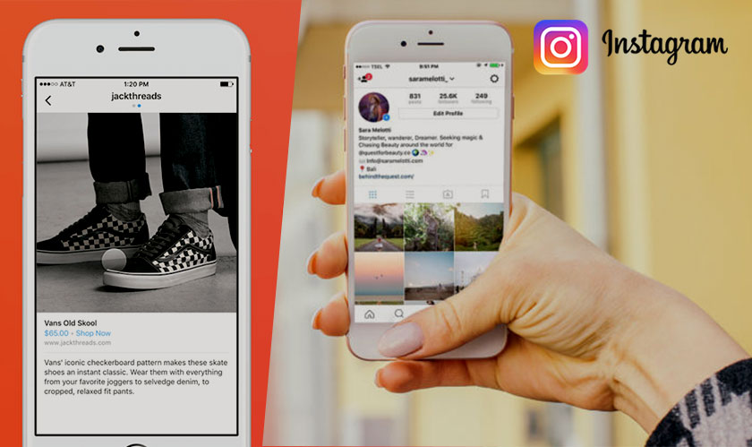 Shopping has a new destination on Instagram's new app