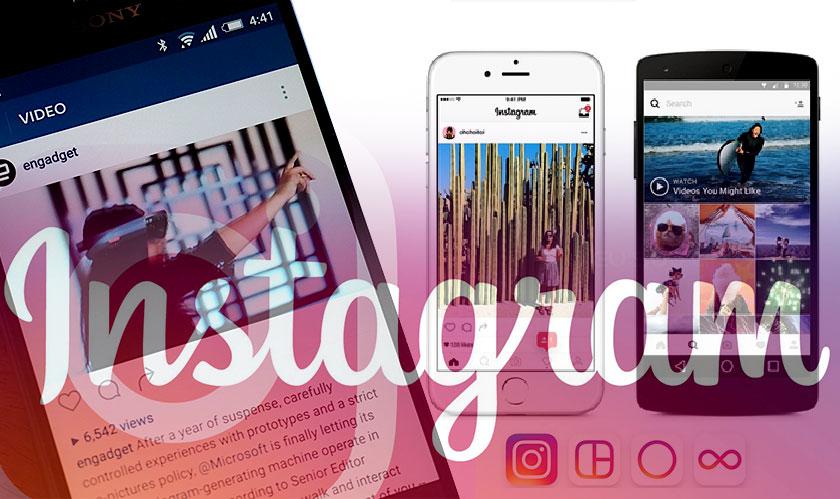 instagram video calls explore redesign