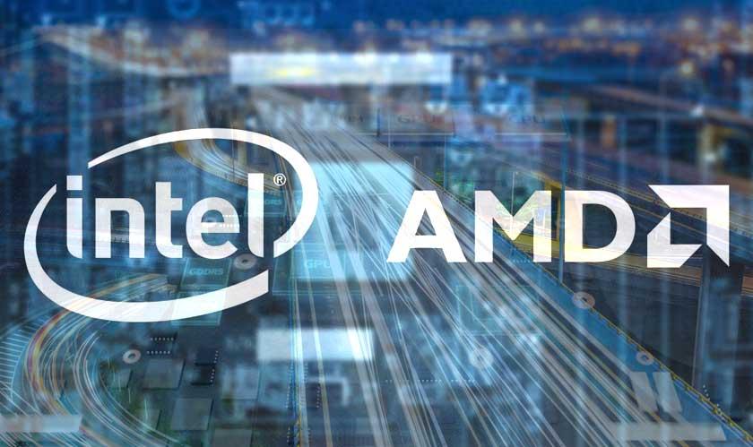 intel amd laptop chips