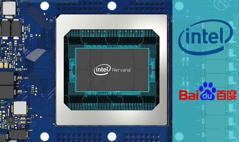 intel baidu collaboration nervana processors