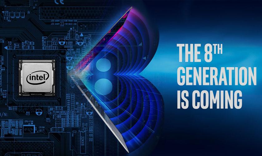 Intel launches 8th-gen Core Processors