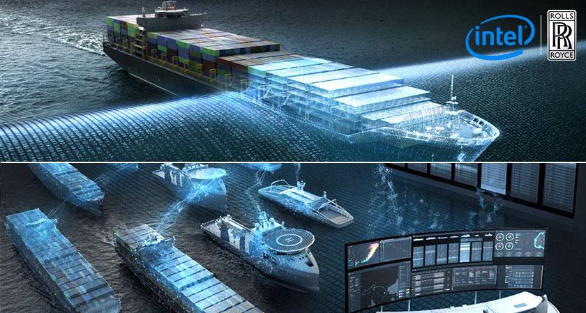 intel rolls royce for autonomous ships