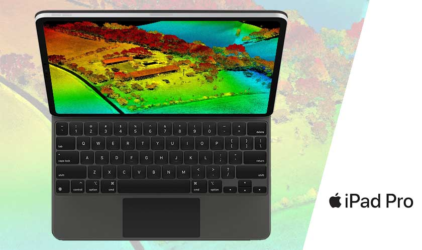 iPad Pro with magic keyboard and LiDAR is now official