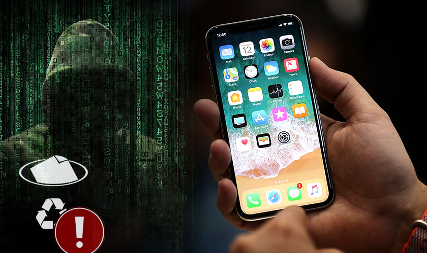 Deleted files on the iPhone X can be hacked, beware