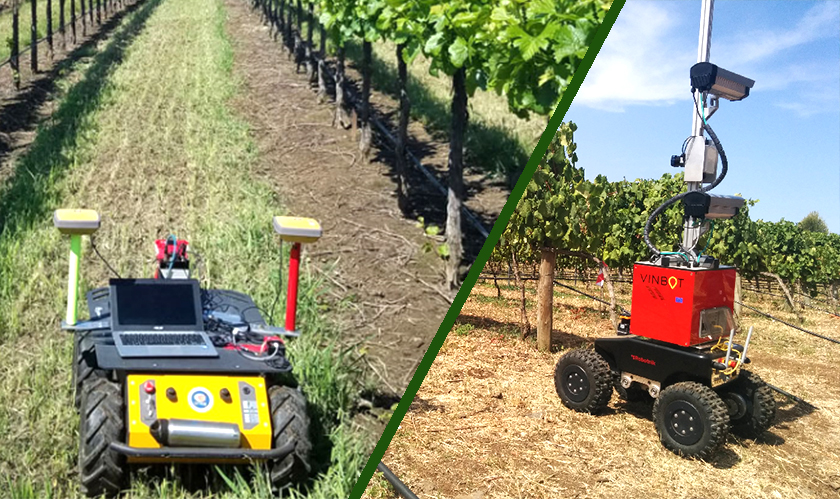 Irrigation Robots help California Vineyards