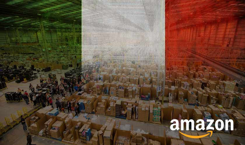 Italy Getting Two New Amazon Hubs This Year