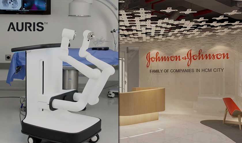 Johnson & Johnson is buying Auris Health for $3.4 billion