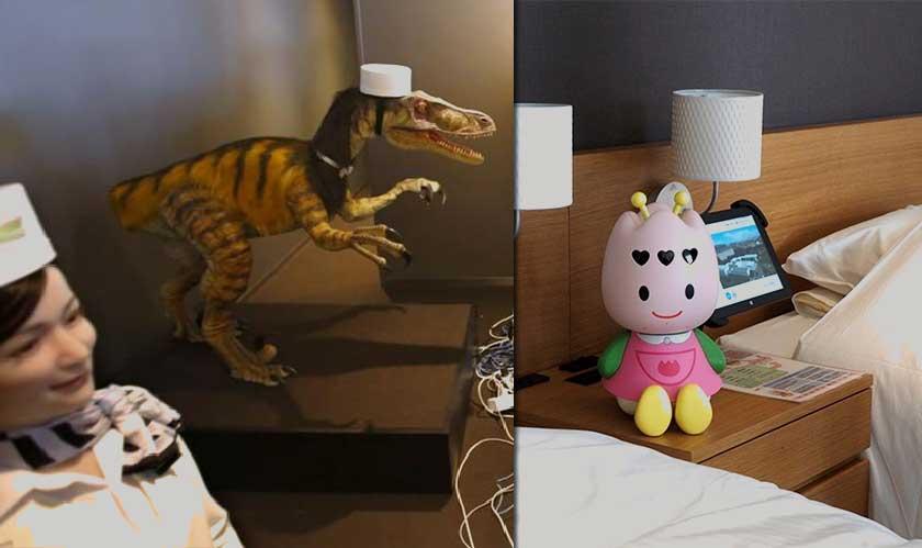 japan hotel layoff robots