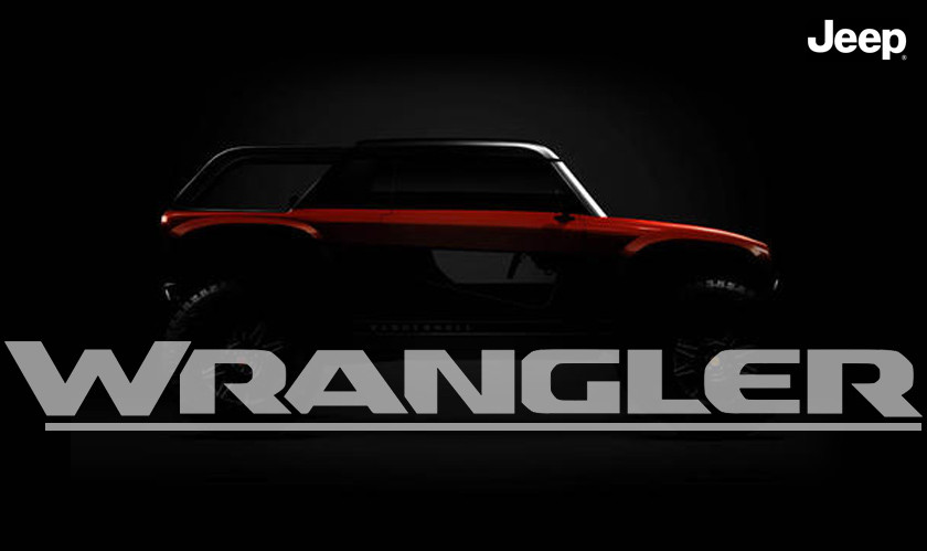 Jeep Wrangler EV teased, concept coming this spring