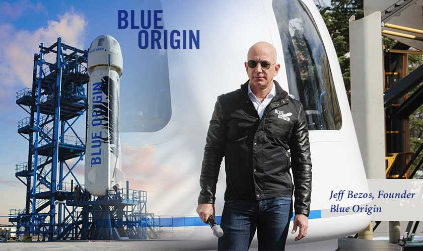 """Let's travel and tour the space next year,"" Jeff Bezos"