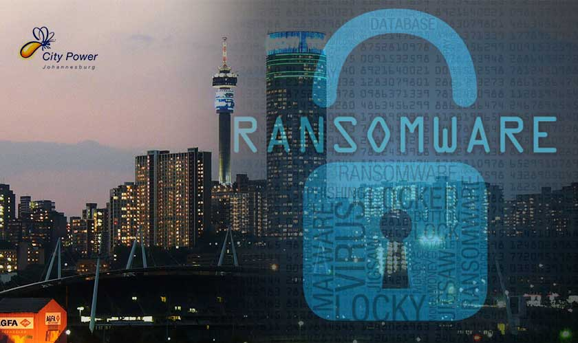 cyber security johannesburg city power ransomware