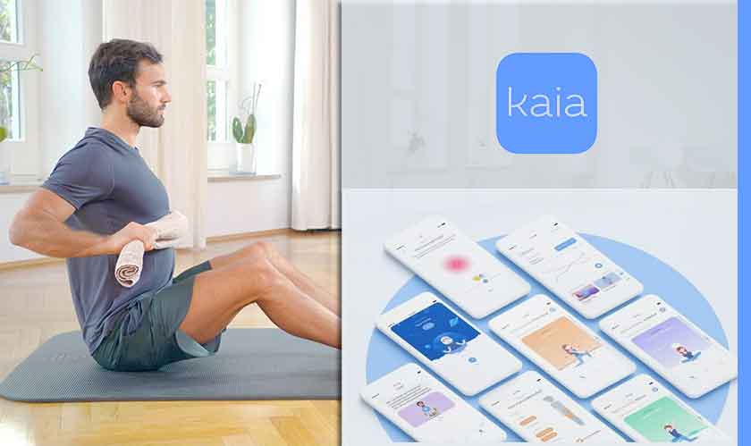 Kaia Health's app is a more-accessible, less-expensive physiotherapy trainer
