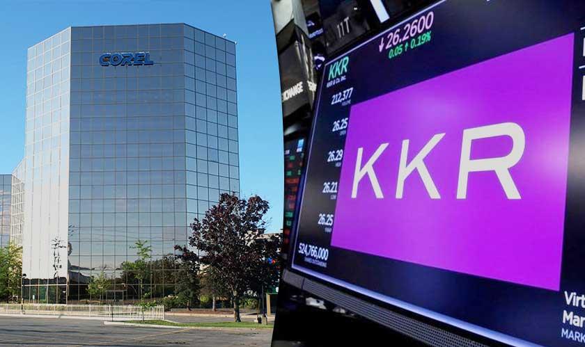 kkr acquires corel