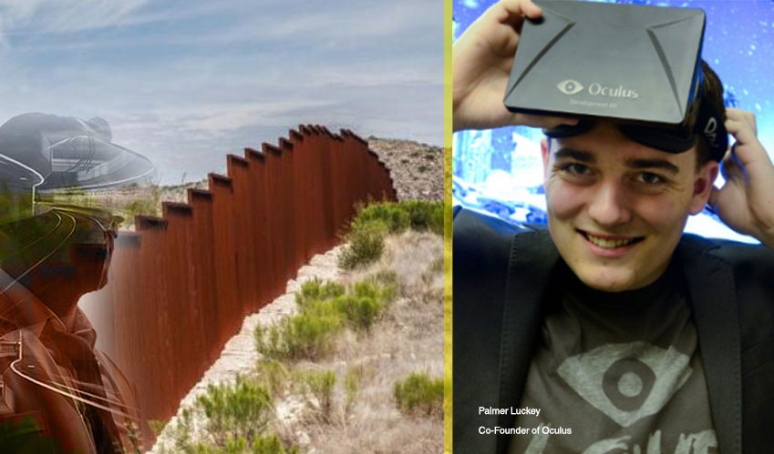 Lattice: Palmer Luckey's proposes a New Virtual Border Wall for US-Mexico