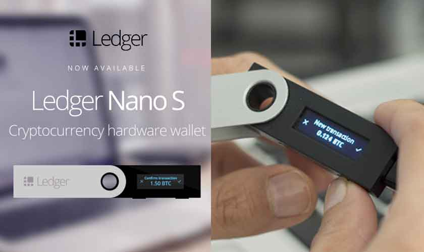 Ledger's new crypto wallet has Bluetooth and a compatible mobile app
