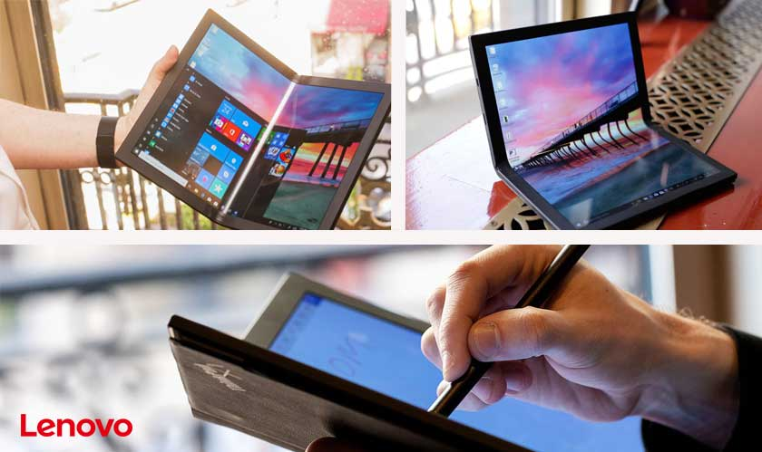 lenovo first foldable pc