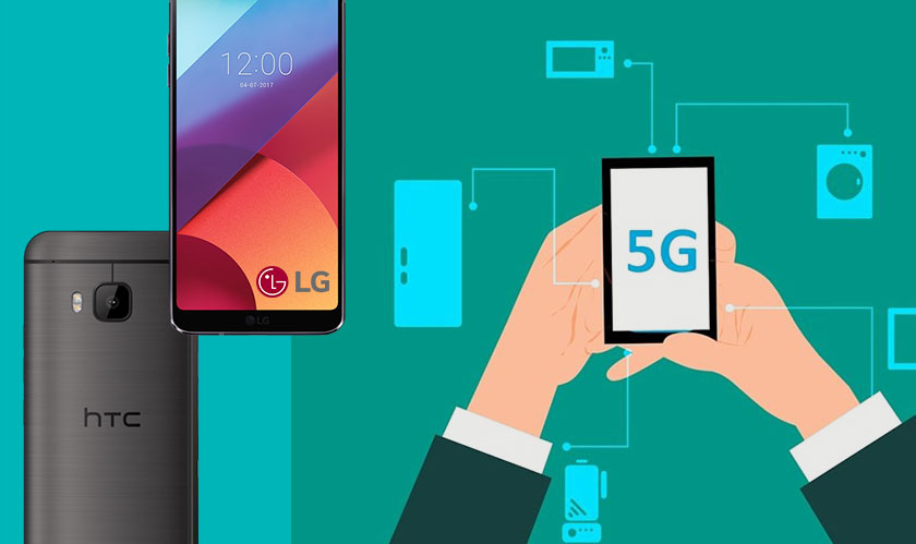 LG and HTC are the new partners for 5G
