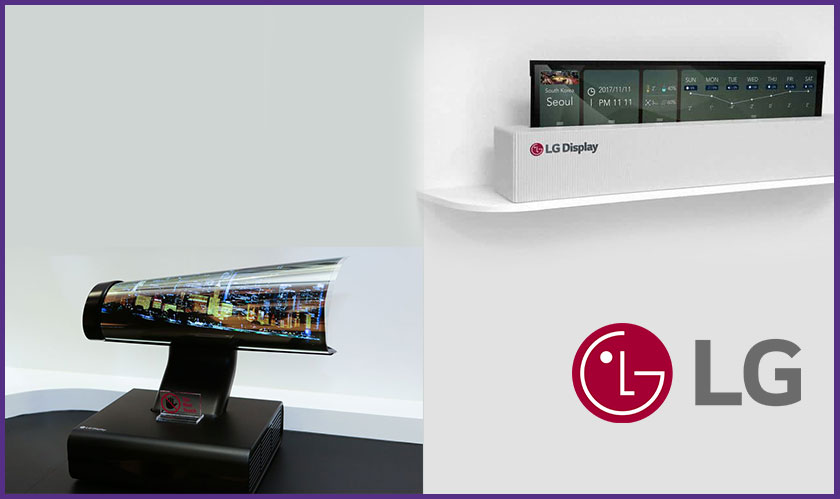 Have you heard of rollable TV from LG yet?