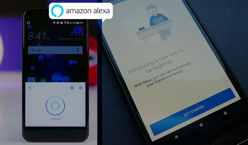 amazon alexa voice assistant android