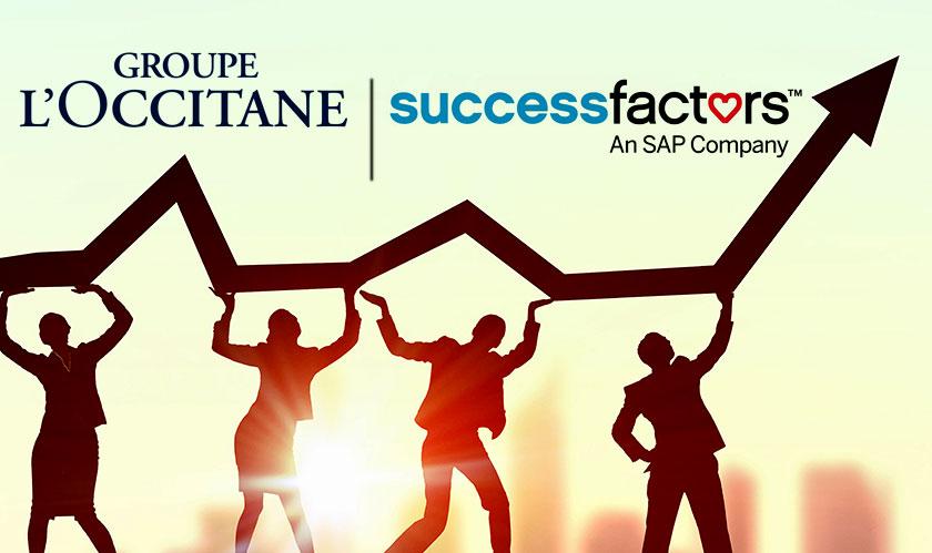 loccitane adopt sap successfactors