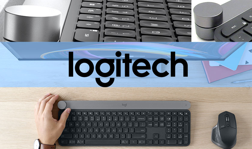Logitech's New Craft Keyboard Has a Giant Creative Input Dial