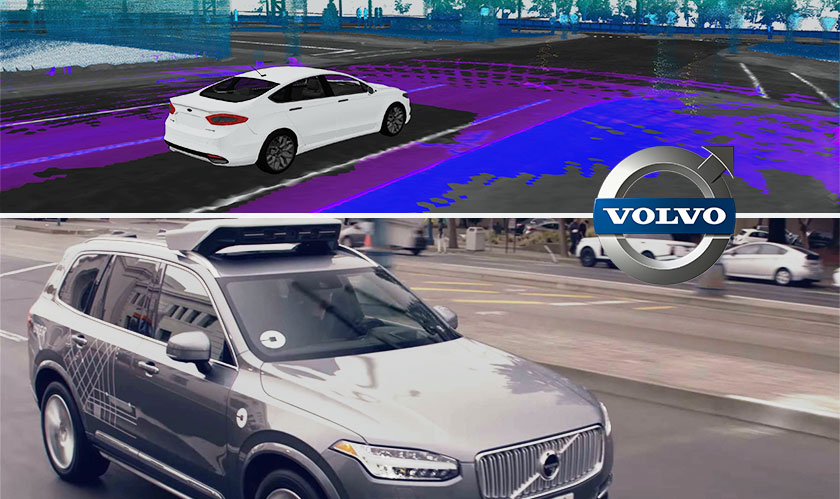 Volvo's Self Driving Cars Can Now See Surroundings in 3-D with Luminar