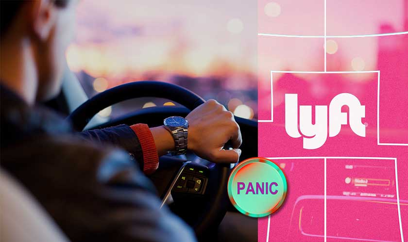 lyft adds panic button 911