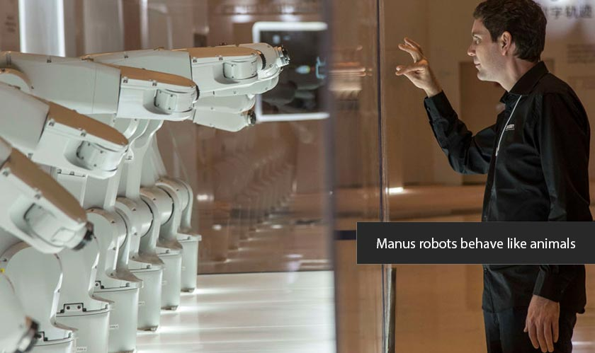 Manus robots understand your intentions through body language