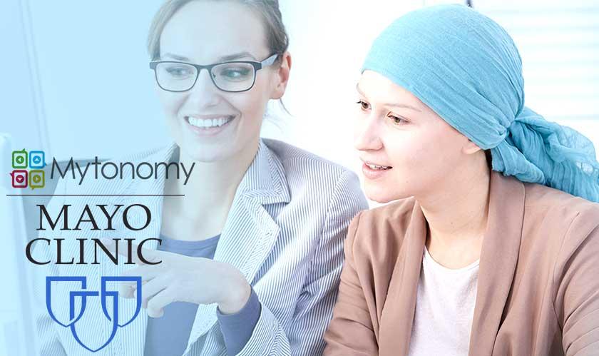 mayo clinic and mytonomy collaborate