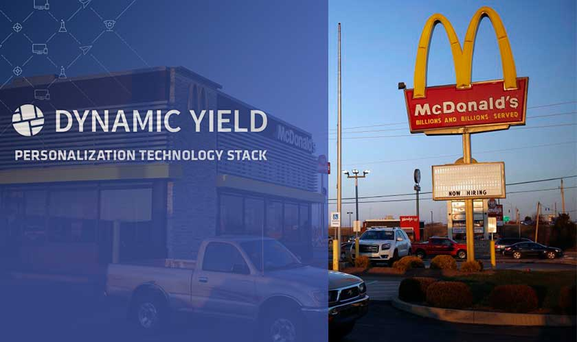 McDonald's acquire Dynamic Yield to improvise the menus
