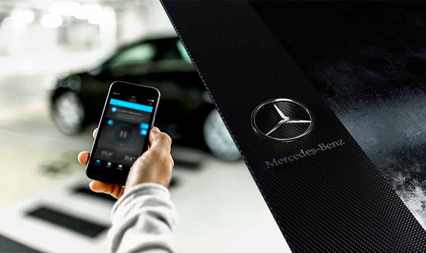 Mercedes-Benz car app showed personal info to other users