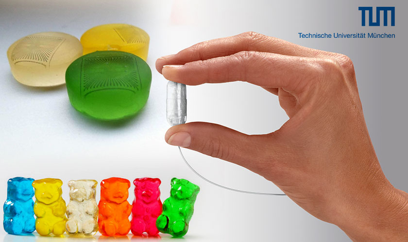 Sensors printed on Gummy Candies, a breakthrough in Medical Technology