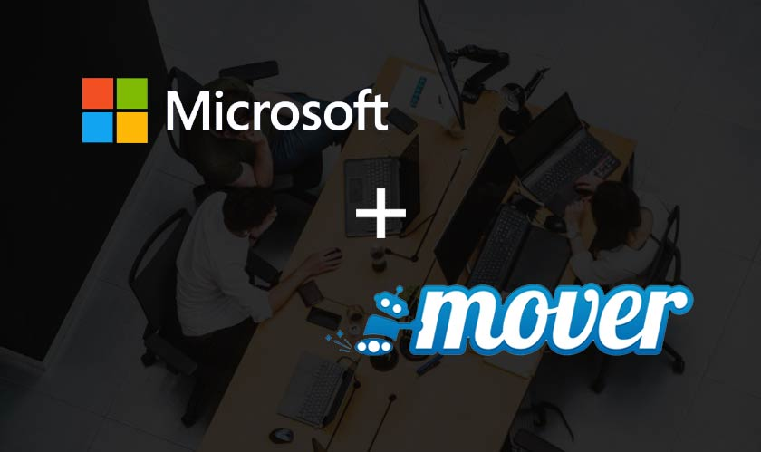 cloud microsoft acquires mover