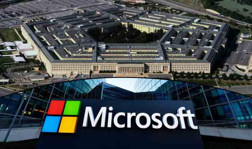 Microsoft Grabs Pentagon's $10 billion cloud deal