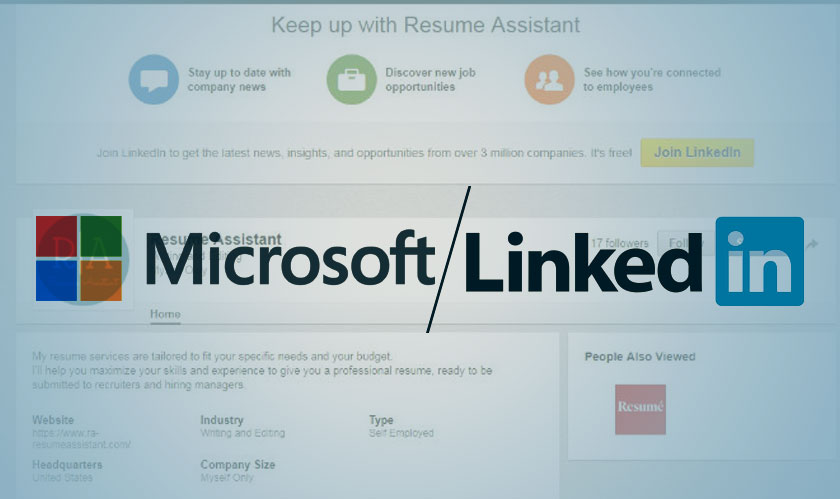 Microsoft and LinkedIn jointly roll out Resume Assistant
