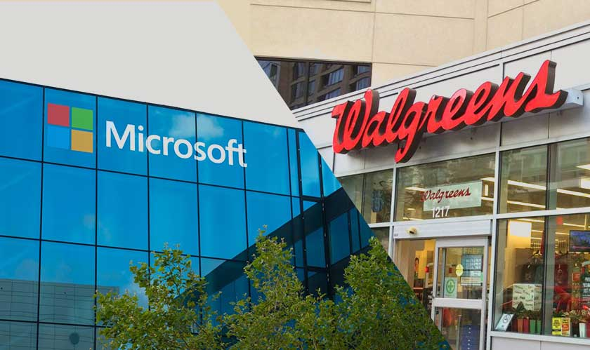 Microsoft partners up with Walgreens to transform healthcare