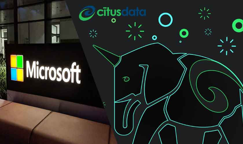 Microsoft to strengthen its database story by acquiring Citus Data