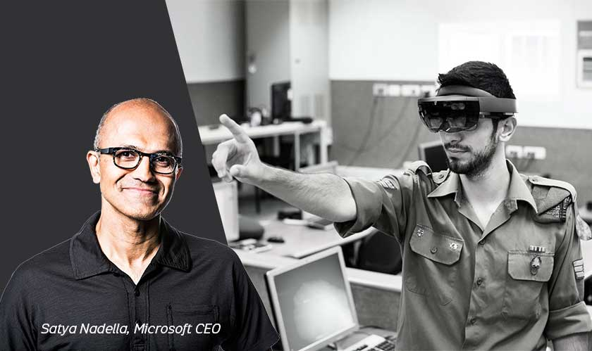 microsoft ceo defends hololens contract