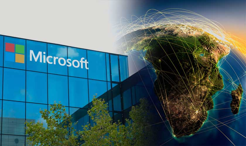 microsoft data centers in africa