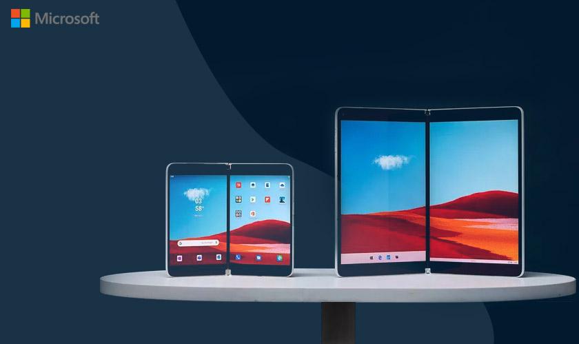 microsoft dual screen apps