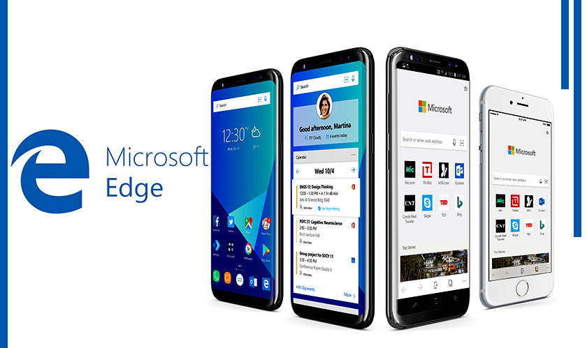 Microsoft Edge comes to Android and iOS