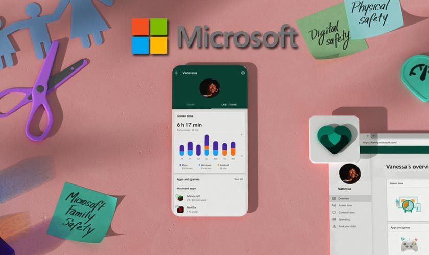 Microsoft Family Safety app gives you advanced parental controls
