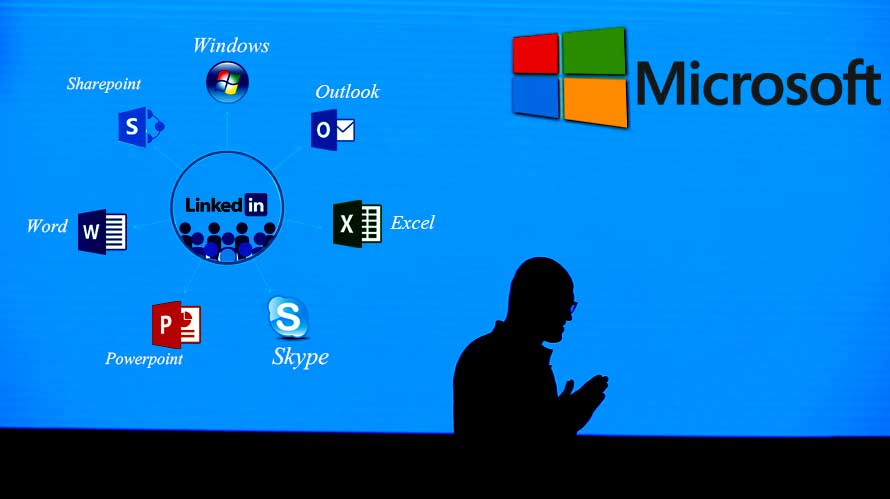 microsoft is using linkedins data in the most strategic way possible