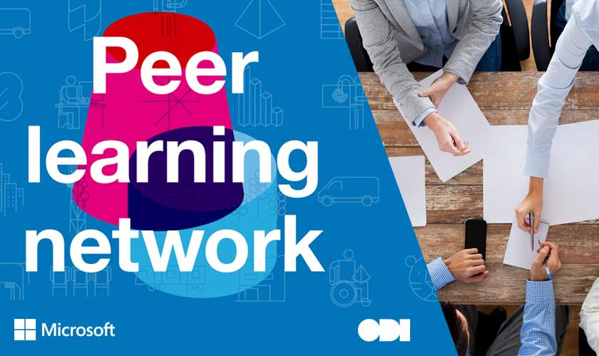 Microsoft, the Open Data Institute Launch a Peer Learning Network