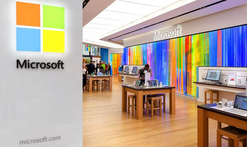 microsoft london retail store