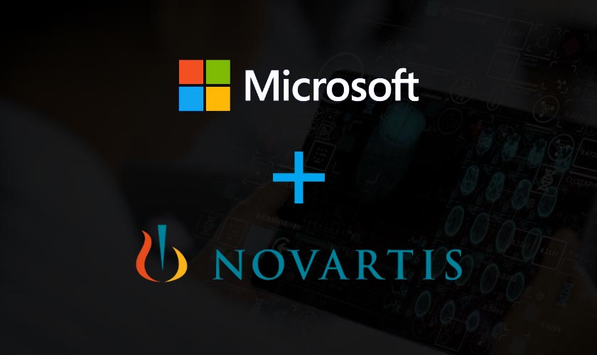 microsoft novartis collaboration ai
