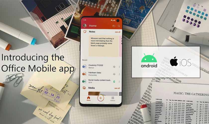 microsoft office android ios