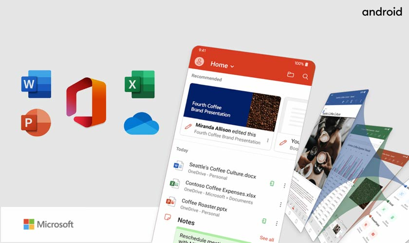 Microsoft's all-in-one office app is available for Android